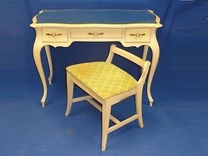50s Shabby French Provincial Vanity Chair Sligh Furn