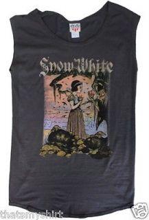 New Authentic Junk Food Disney Snow White Ladies Tunic Fashion T Shirt