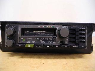 Vintage Grundig Car Audio Radio Stereo Cassette Receiver Equalizer GCM 9200