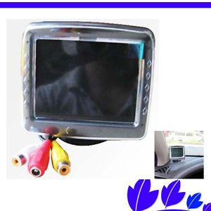 Brand New 3 5 inch TFT LCD Color Display Screen Car Reverse Rearview Monitor CZ8