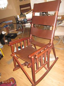 Costa Rica Sarchi Rocking Chairs Quality Handcrafted Real Leather
