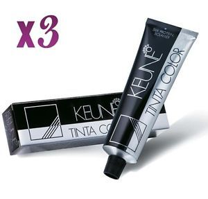 3 x Keune Tinta Color Permanent Hair Color Select Your Shades 60ml Each Tube