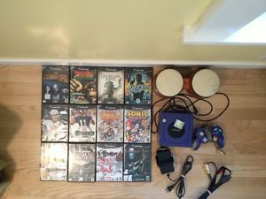 Big GameCube Lot 12 Classic Games Console Mem Card Bongos