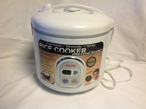 Aroma 10 Cup Rice Cooker Food Steamer Arc 830TC EUC