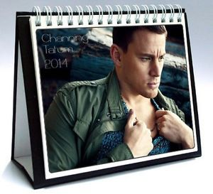 Channing Tatum 2014 Desktop Holiday Calendar