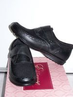 Aetrex Essence Monk Strap Black Loafer Shoe Women Sz 9