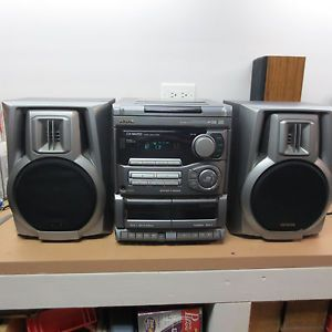 Aiwa CX NA202 Digital Audio Compact Stereo System With Speakers