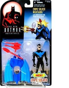 The New Batman Adventures Crime Solver Nightwing Action Figure Brand New