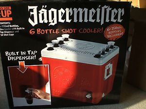 Jagermeister Jager Cooler Ice Chest W Dispenser 50 Plastic Jager