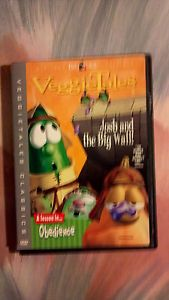 VeggieTales Josh and The Big Wall DVD No Disc Only Case and Artwork