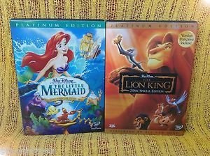 Lion king platinum edition dvd with
