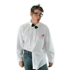 Nerd Kit Geek Glasses Bowtie Adult Mens Womens Halloween Costume