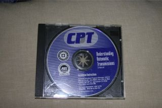 GM Automatic Transmission Diagnostic Training CD