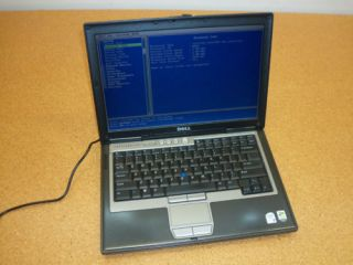 """Dell Latitude D620 14"""" Laptop Core 2 Duo 1 83 GHz DVD±RW 1GB Tested Working"""