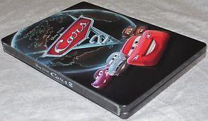 Disney Pixar Cars 2 Collectible Steelbook Case Blu Ray Dvd Ps3 Wii Xbox 360