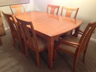Ethan Allen Dining Room Table Chairs