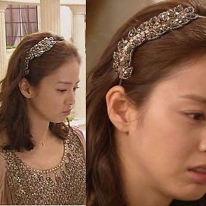 Korean Drama My Princess Kim Tae Hee's Crystal Headband