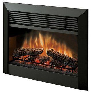 Dimplex 32 in Black Electric Fireplace Insert DFB6016