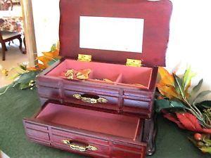 Wood Jewelry Box Drawers