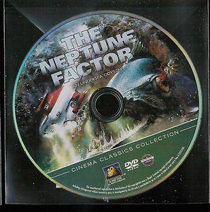 Neptune Factor DVD Yvette Mimieux Ben Gazzara Ernest Borgnine But No Case