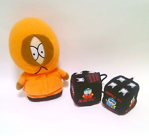 South Park Kenny Stuffed Doll Eric Cartman Mr Kitty Hanging Dice