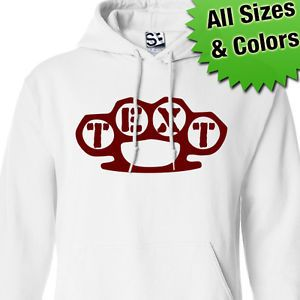 Custom Brass Knuckles Hoodie Personalized Sweatshirt Dusters All Sizes Colors