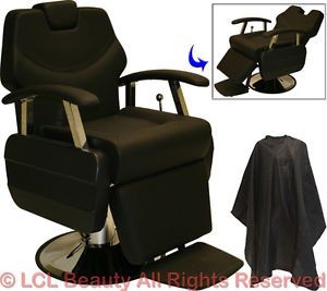 Classic Professional Hydraulic Reclining Barber Chair Beauty Spa Salon Equipment