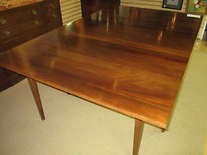 Cherry Drop Leaf Swing Leg Dining Table WOW