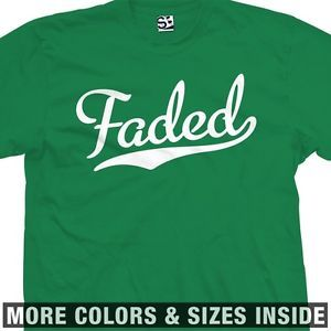 Faded Baseball T Shirt Pot Weed Kush All Sizes Colors