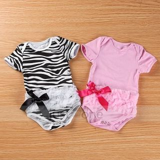 Lovely Girls Baby Toddlers Bodysuit One Piece Princess Romper Jumpsuit 0 12M