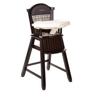 Eddie Bauer Classic High Chair Colfax New
