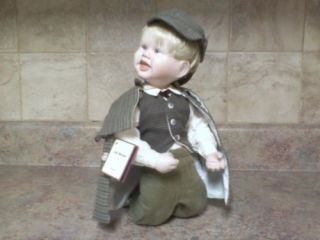 Ashton Drake Galleries Sherlock Holmes Collectible Doll