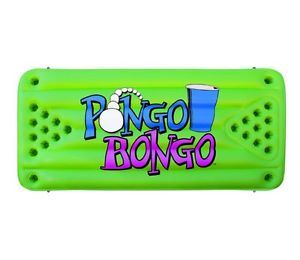Pongo Bongo Beer Pong Floating Water Table Game Balls Beach Boat Inflatable Pool