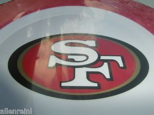 San Francisco 49ers Logo Dinner Plates 24 Quality Dinner Plates