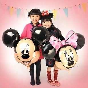 New Massive Minnie Mickey Mouse Head Balloons Party Decorations Celebrations