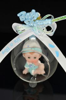 Favors Baby Shower Recuerdos Souvenirs Boy 2 Poses Fav 075 X12
