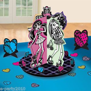 23pc Monster High Table Decorating Kit Birthday Party Supplies Centerpiece