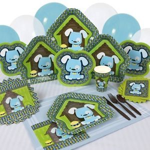 Party Supplies Boy Puppy Dog Baby Shower or Birthday Party
