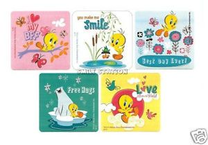 15 Looney Tunes Tweety Bird Stickers Party Goody Loot Bag Filler Favor Supply