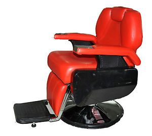 All Purpose Hydraulic Recline Barber Chair Salon Beauty Spa Shampoo Red