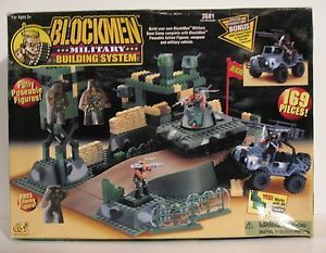 DSi Blockmen Military Building System 3681 New in Box