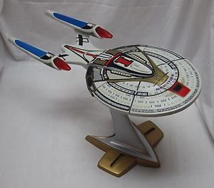 Vintage 1996 Playmates Star Trek USS Enterprise NCC 1701 E with Stand