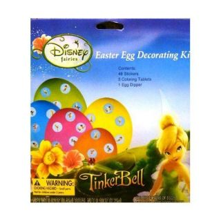 Disney Fairies Tinkerbell Easter Egg Decorating Coloring Kit