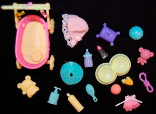Littlest Pet Shop LPS ✿ Accessories Food Toys Clothes Dress Up Stroller Baby Lot