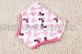1 PC 3 Layers Girls Toddler Potty Training Pants Cartton Underwear Size 100