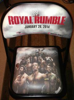 2014 WWE Royal Rumble Ringside Front Row Chair Daniel Bryan John Cena cm Punk