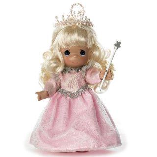 "Precious Moments 7"" Glinda Good Witch Pink Queen The Wizard of oz Doll Gift Box"