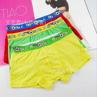 6 Pcs Young Boy Sexy Boxer Briefs Kids Boxers Shorts Children Cotton Underwear