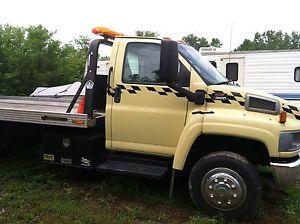 Chevrolet GMC Topkick Kodiak C5500 8 1 Flatbed Truck LP Propane LPG Tow Truck