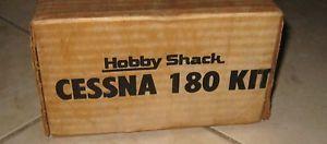 New Vintage Hobby Shack Cessna 180 R C Airplane Kit RC Foam 049 Engine